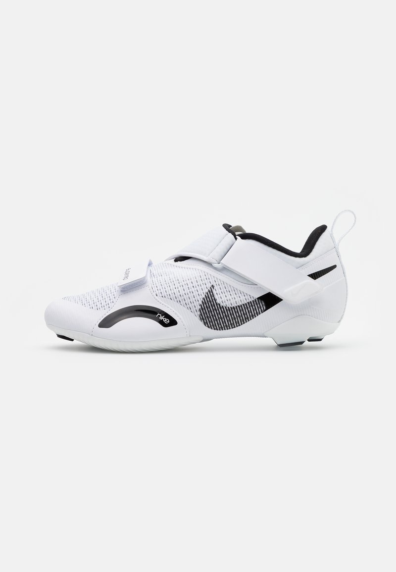 Nike Performance - SUPERREP CYCLE - Cycling shoes - white/black