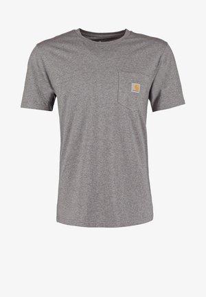 Basic T-shirt - dark grey heather
