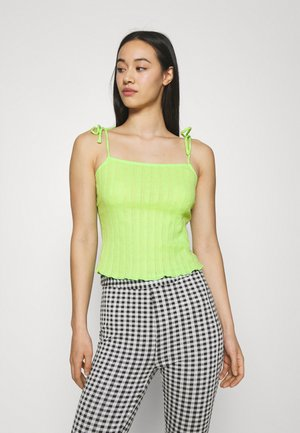 PCTHEIA STRAP - Top - jade lime