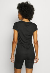 ODLO - CREW NECK ACTIVE F-DRY LIGHT - Basic T-shirt - black