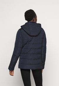Dorothy Perkins Tall - GLOSSY HOODED JACKET - Talvitakki - navy - 2