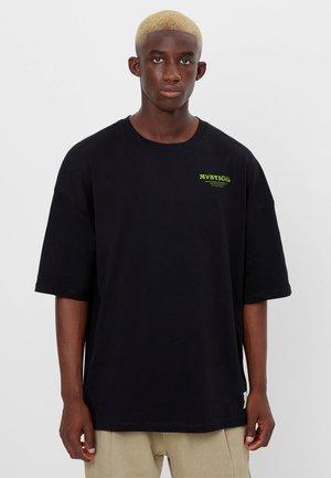 MIT ESOTERISCHEM PRINT - Print T-shirt - black