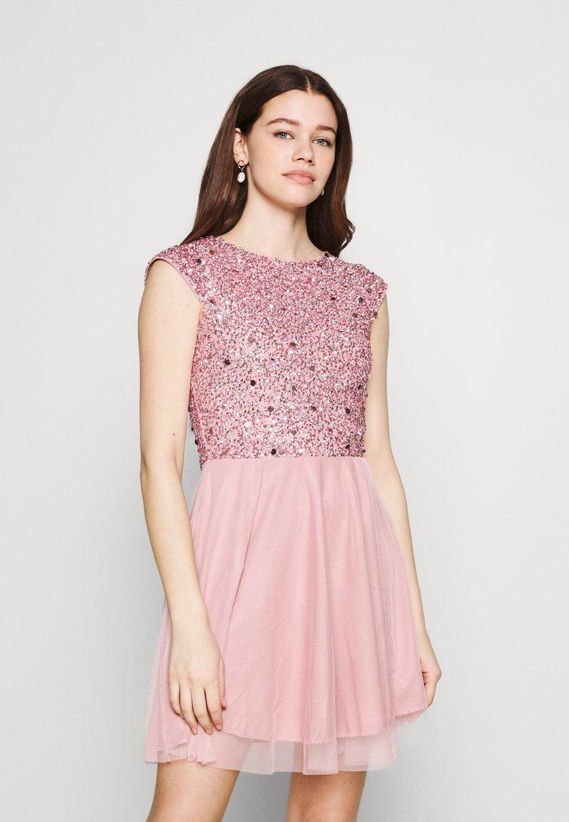 Lace & Beads - TESS SKATER - Juhlamekko - pink