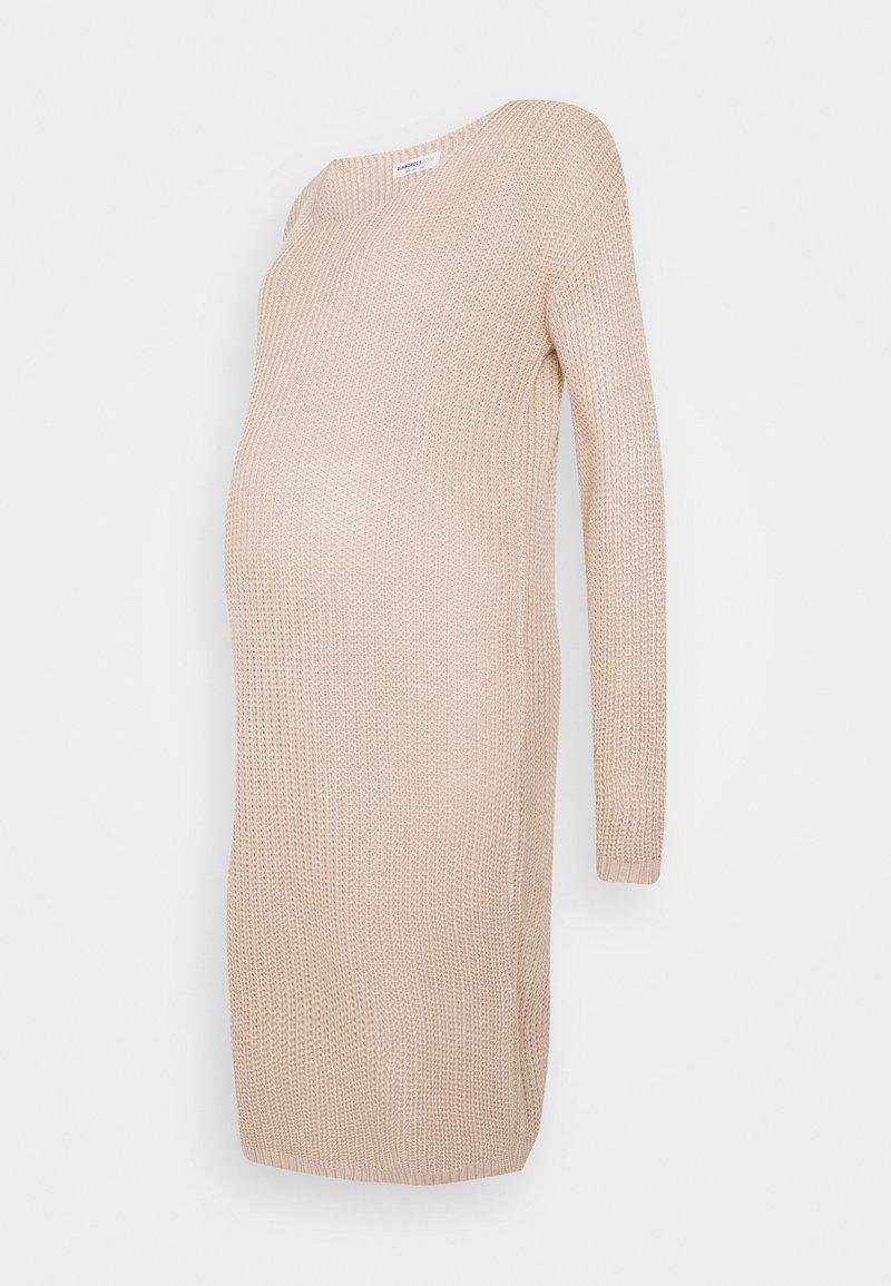 Glamorous Bloom - COSY JUMPER DRESS - Vestido de punto - stone