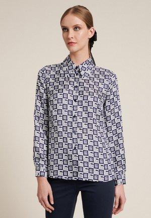 BALCAN - Button-down blouse - var blu