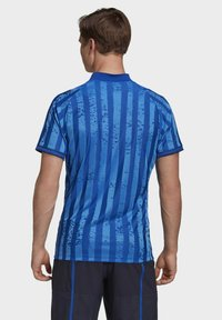 adidas Performance - Print T-shirt - blue - 1