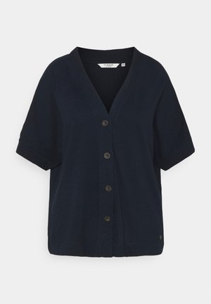 WITH PLACKET - T-shirt imprimé - sky captain blue