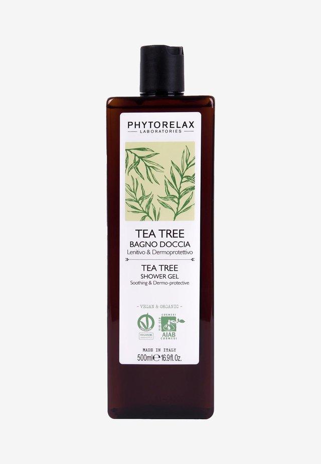 VEGAN & ORGANICTEA TREE - SOOTHING & DERMOPROTECTIVE SHOWER GEL  - Docciaschiuma - -