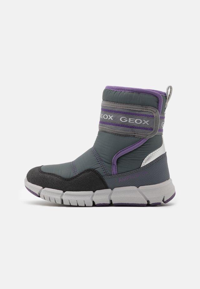 FLEXYPER GIRL - Vysoká obuv - grey/purple