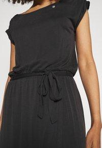 Ragwear - ETHANY - Jersey dress - black - 4