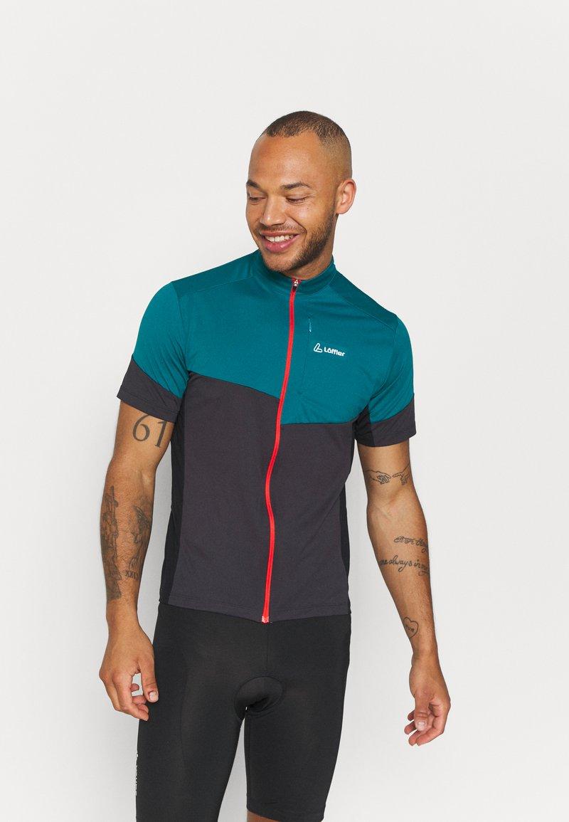 LÖFFLER - BIKE BLOCK - T-shirt imprimé - pine