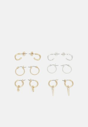 FGOLIVIA EARRINGS 6 PACK - Earrings - gold-coloured/silver-coloured