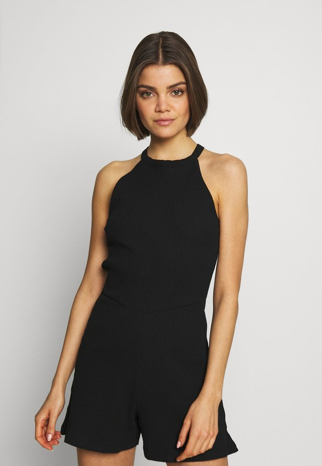 BASIC - Playsuit - Jumpsuit - black