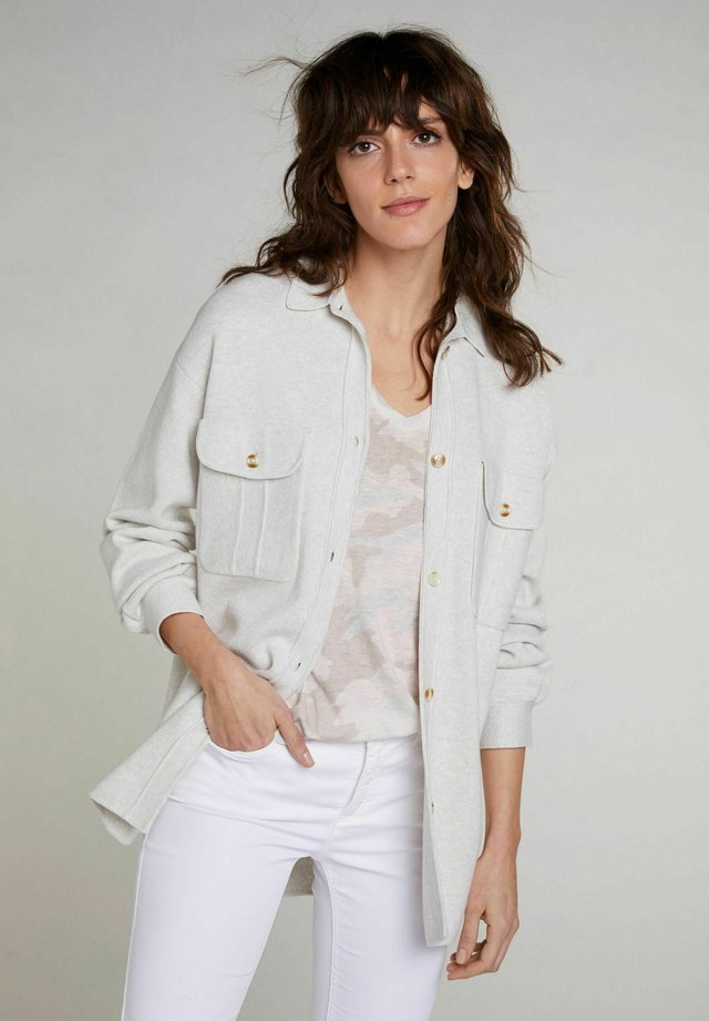 Vest - offwhite melange