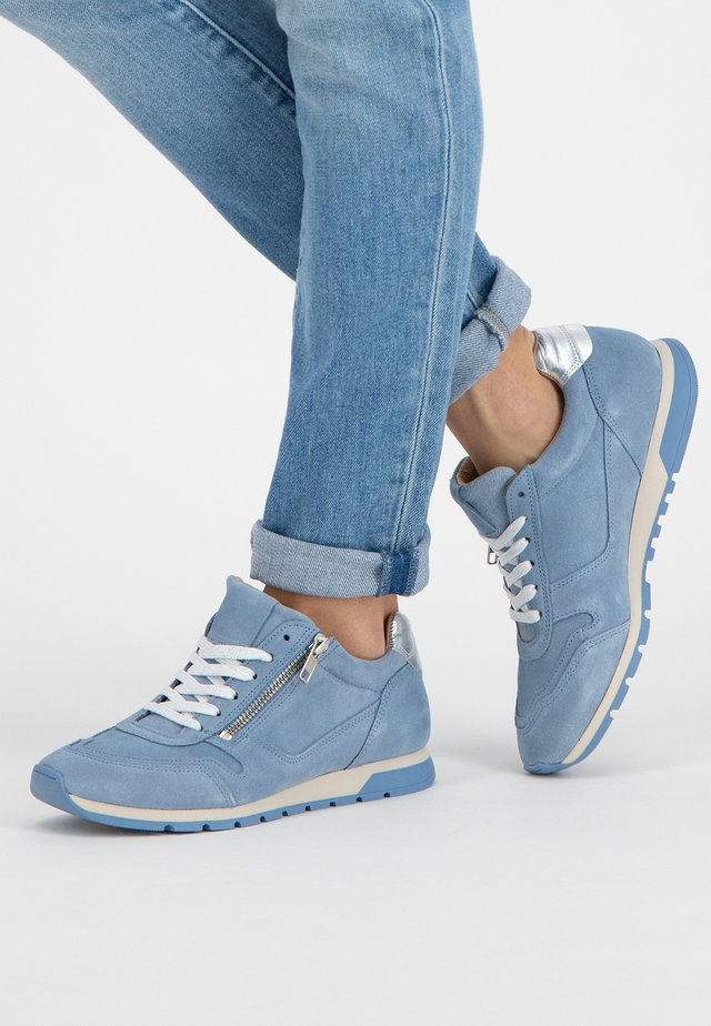 E.BLORE - Sneakers laag - lightblue