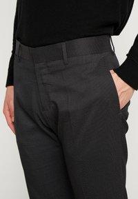 Antony Morato - SLIM JACKET BONNIE PANTS  - Kostym - black - 6