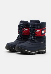 Tommy Hilfiger - UNISEX - Winter boots - blue/red - 1