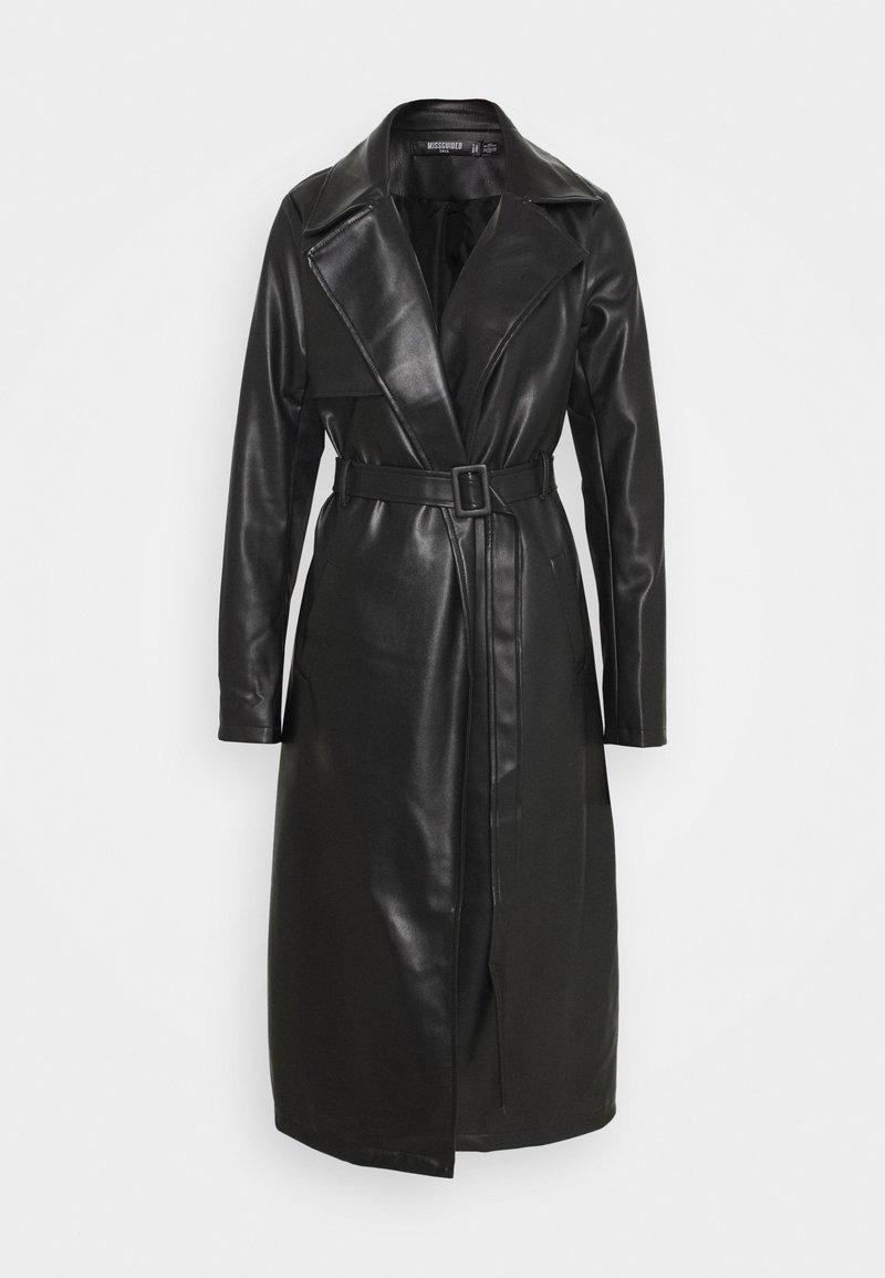 Missguided Tall - COAT - Classic coat - black