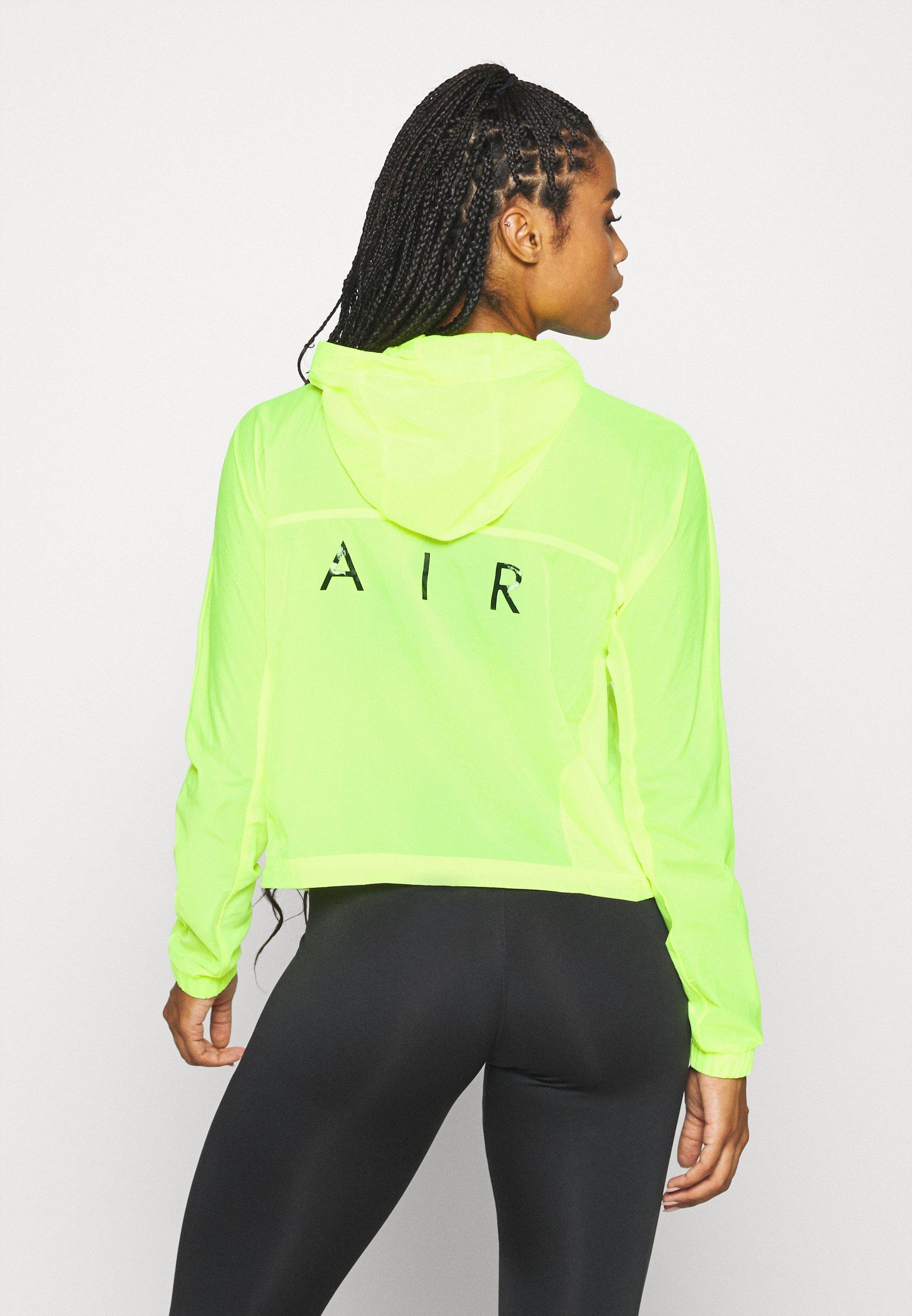 Ultimo sconto Abbigliamento da donna Nike Performance AIR Giacca da corsa volt/black