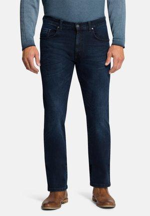 RANDO - Slim fit jeans - dark blue used buffies