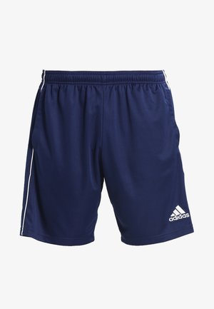 CORE ELEVEN PRIMEGREEN FOOTBALL 1/4 SHORTS - Korte sportsbukser - dark blue/white