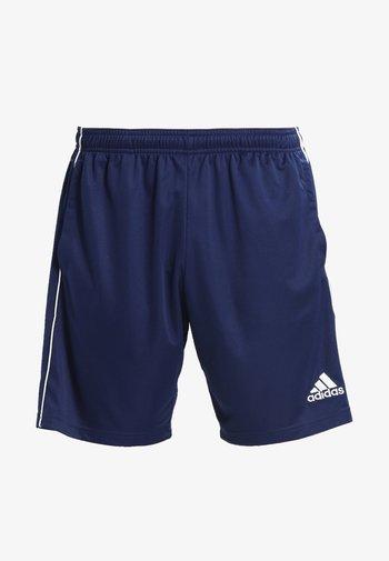 CORE ELEVEN PRIMEGREEN FOOTBALL 1/4 SHORTS - Korte broeken - dark blue/white