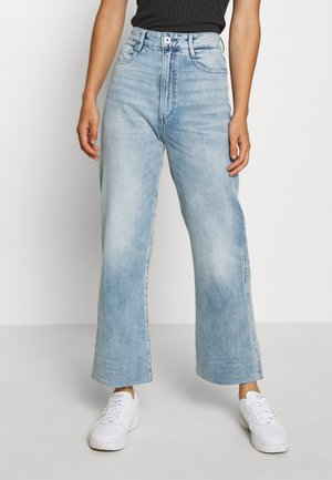 TEDIE ULTRA HIGH STRAIGHT ANKLE - Jeans straight leg - sun faded arctic