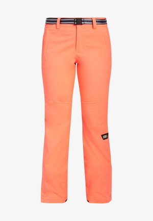 Snow pants - fiery coral