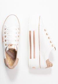 Dockers by Gerli - Sneakers laag - weiß/rosegold - 3