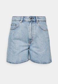 SHORTS - Denim shorts - light blue