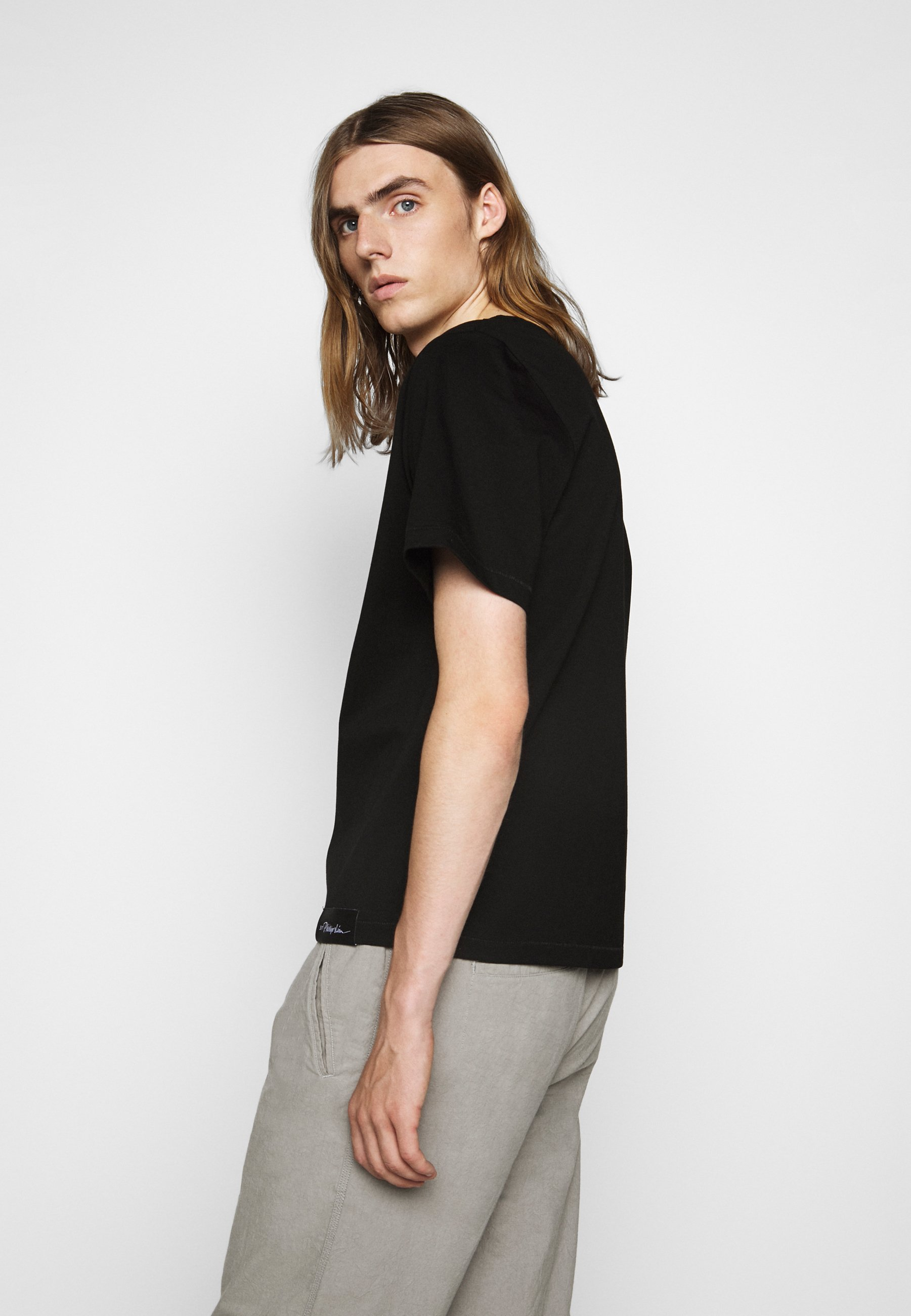 3.1 Phillip Lim PERFECT TEE - Basic T-shirt - black w4G7h