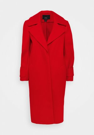 DROP SHOULDER - Cappotto classico - red
