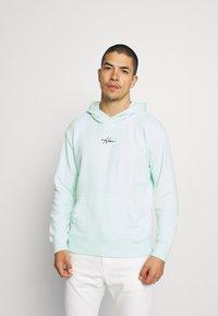 Hollister Co. - TONAL BOX SOLID UNISEX - Sweatshirt - mint - 0