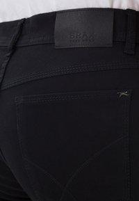 BRAX - STYLE COOPER - Straight leg jeans - perma black - 4