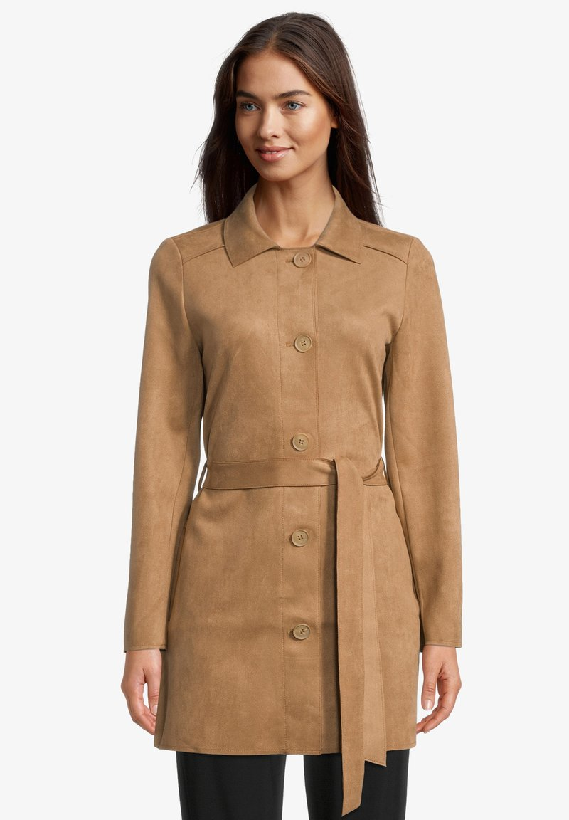 Betty & Co - Short coat - mexican brown