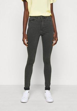NMCALLIE - Jeans Skinny Fit - dark grey denim