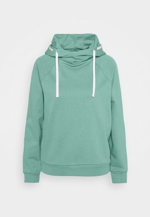 Bluza z kapturem - dusty green