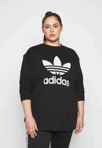 adidas Originals - CREW - Mikina - black/white - 0