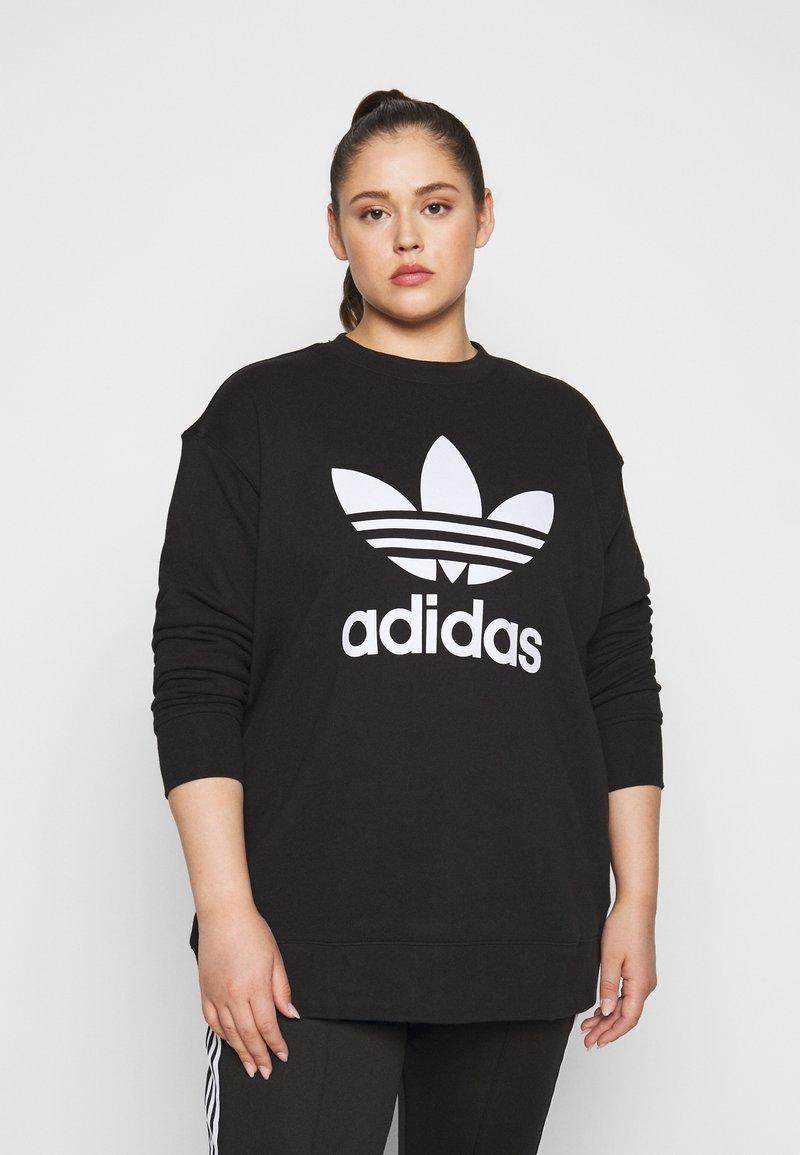 adidas Originals - CREW - Mikina - black/white