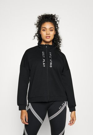 ONPSEBINA ZIP - Sweater - black
