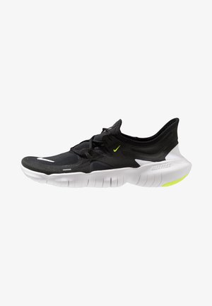 FREE RN 5.0 - Trainers - black/white/anthracite/volt