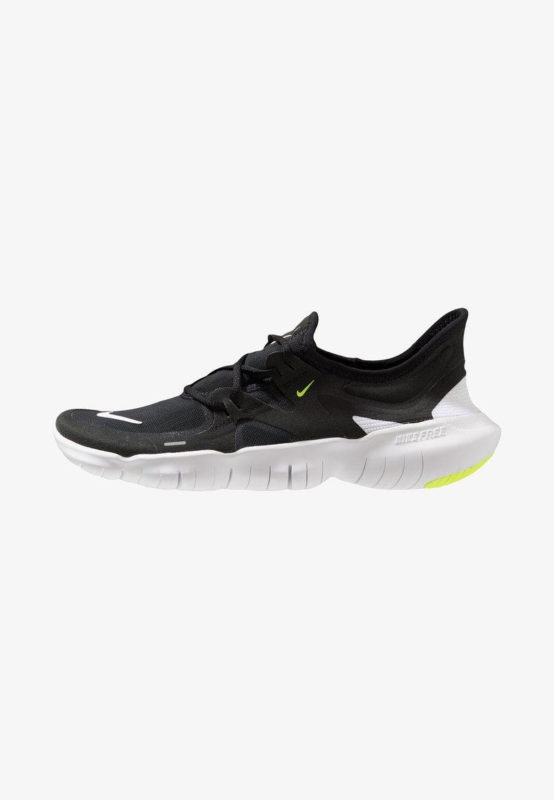Nike Performance - FREE RN 5.0 - Minimalistické běžecké boty - black/white/anthracite/volt