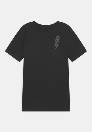 ZION - T-shirt con stampa - black