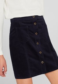 edc by Esprit - A-line skirt - navy - 4