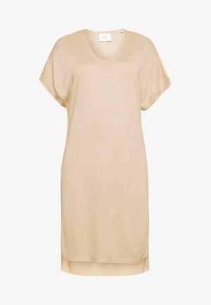 DRESS SUBTLE MINIMAL STRUCTURE - Jumper dress - warm sand