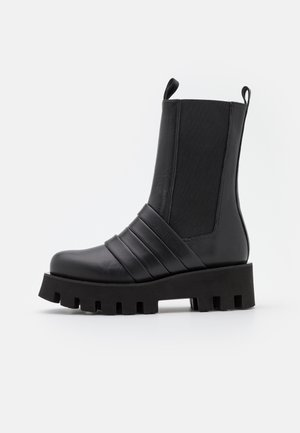 AYLA - Platåstøvler - black