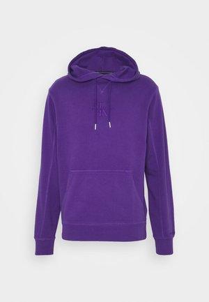 ACID WASH HOODIE UNISEX - Bluza - gentian violet