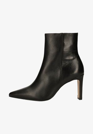 High heeled ankle boots - schwarz 0100