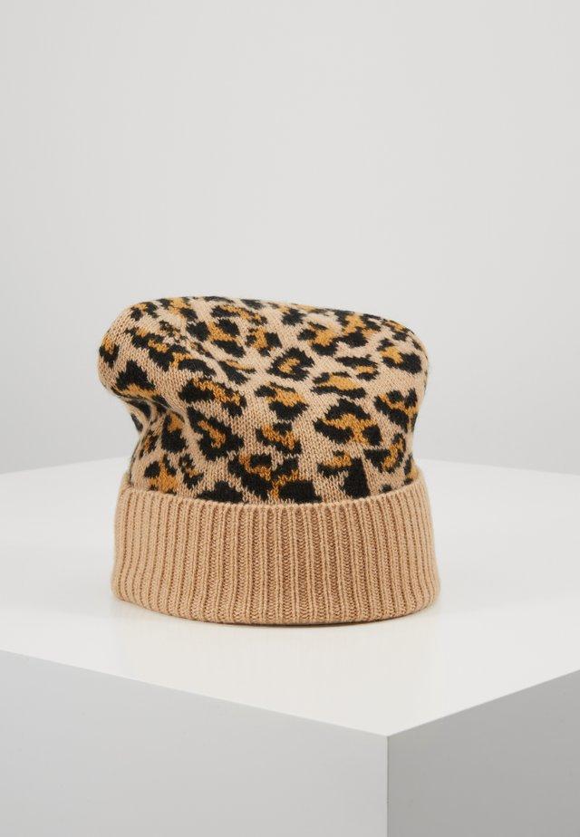 HAY - Bonnet - baby camel/black