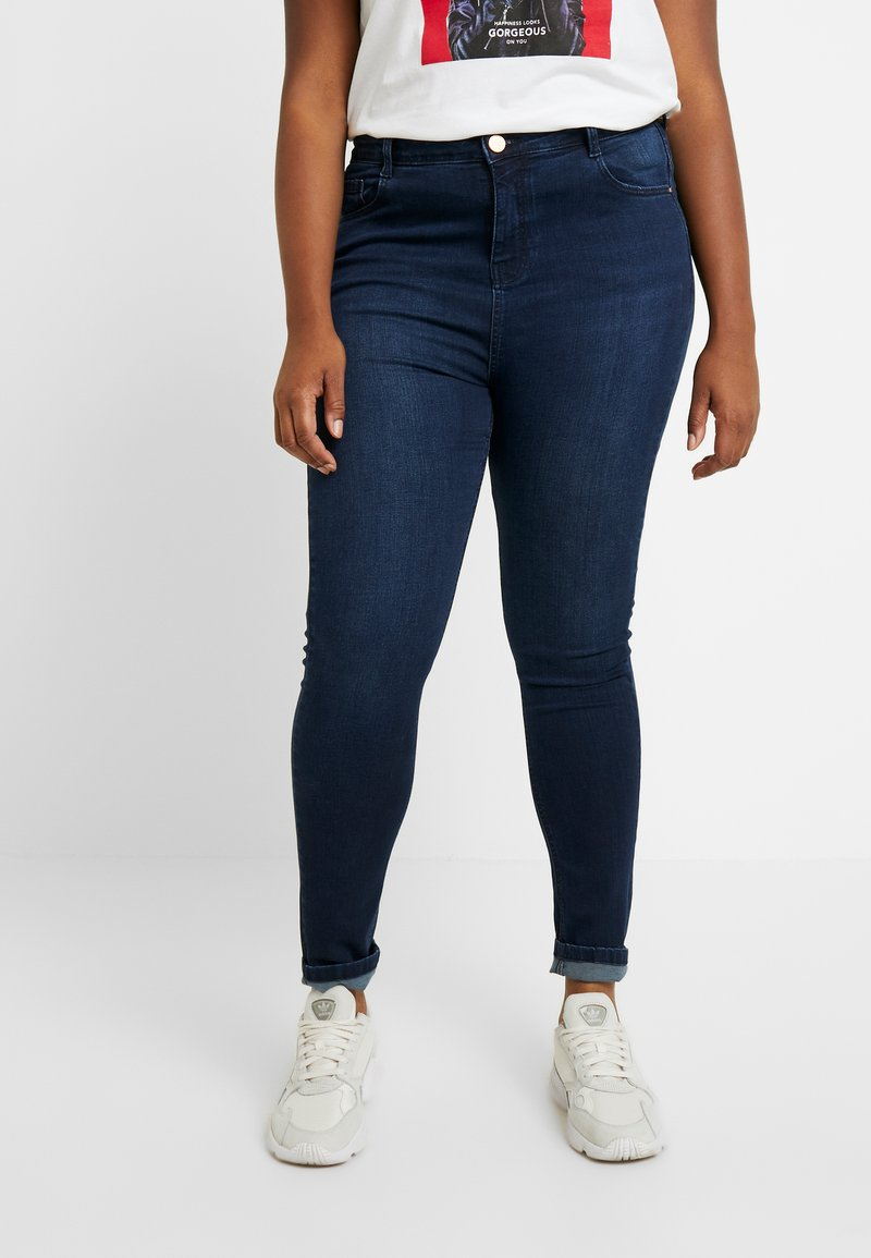 Dorothy Perkins Curve - SHAPE AND LIFT - Jeans Skinny Fit - indigo